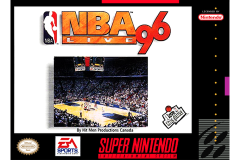 Play NBA Live' 96 Nintendo Super NES online | Play retro ...