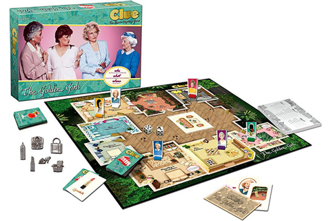 Golden Girls Clue Board Game USAopoly - ToyWiz