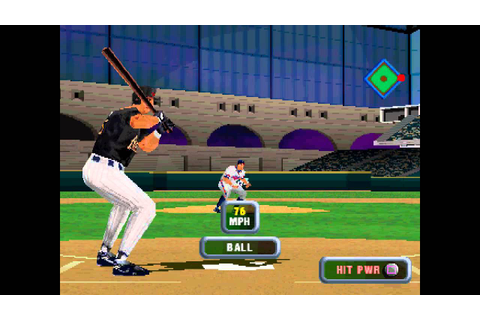 MLB 2001 ... (PS1) 60fps - YouTube
