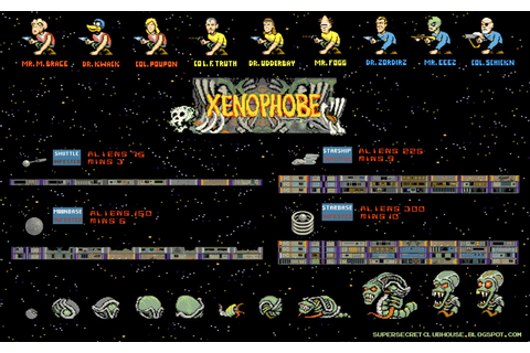 Xenophobe - Xenophobe - Commodore 64 - Games Database