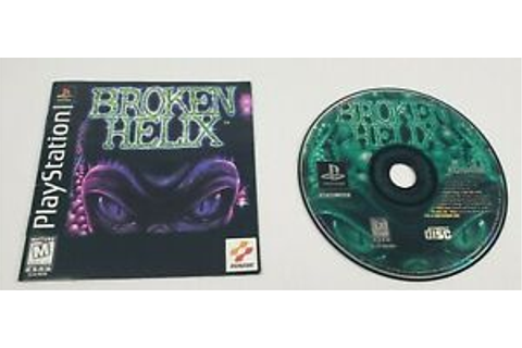Broken Helix (Sony PlayStation 1, 1997) PS1 Game and ...