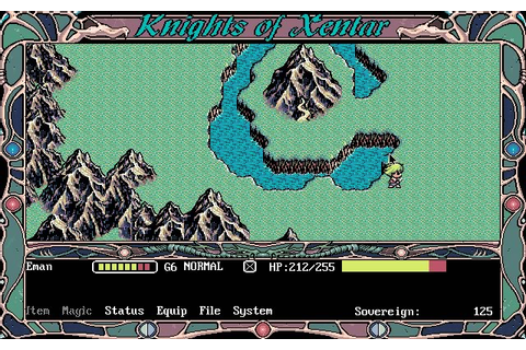 Download Knights of Xentar rpg for DOS (1994 ...
