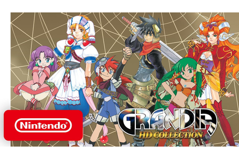 GRANDIA HD Collection - Launch Trailer - Nintendo Switch ...