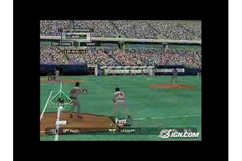 Major League Baseball 2K5 Xbox Gameplay - On Command - YouTube