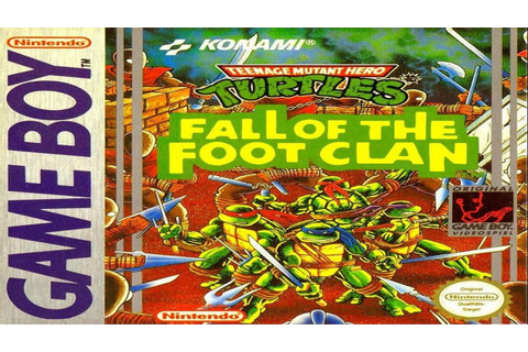 Teenage Mutant Ninja Turtles: Fall of the Foot Clan - Game ...