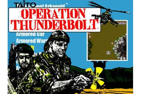 Operation Thunderbolt (Arcade) - YouTube