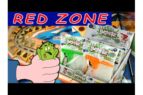 THE Buginator Toy! Red Zone Arcade Game | - YouTube