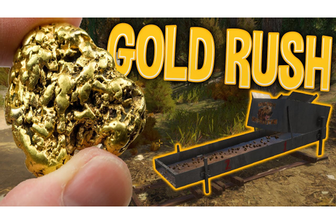 My Gold Mining Operation - First Gold Bar! | Gold Rush The ...