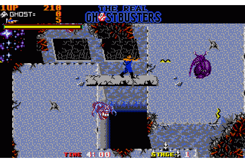 The Real Ghostbusters (1989) by Activision Amiga game