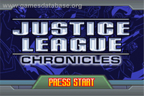 Justice League: Chronicles - Nintendo Game Boy Advance ...