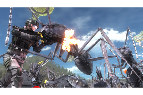 Review: Earth Defense Force 5 is B-grade gaming at its ...