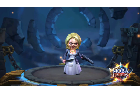 "MOBA Legends | Tiffany ""Bride of Chucky"" Animations - YouTube"