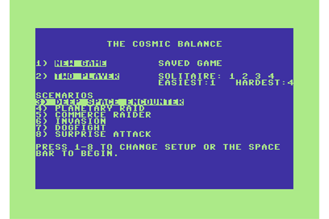 Download The Cosmic Balance - My Abandonware