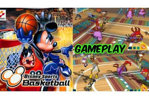 Disney Sports Basketball Gameplay - 3 Matches GC HD - YouTube