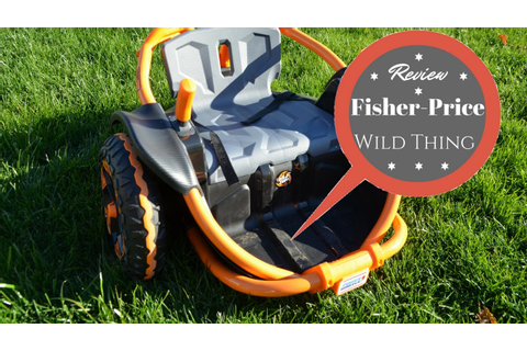 Review! Fisher Price Wild Thing Ride-On - YouTube