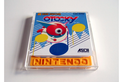 The Gay Gamer: Acquisition #146: Otocky (Famicom Disk System)