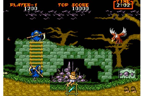 [MegaDrive] Ghouls'n Ghosts