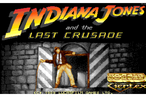 Indiana Jones and the Last Crusade: The Action Game (1989 ...