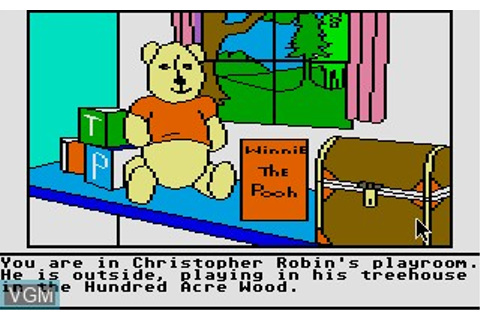 Winnie the Pooh in the Hundred Acre Wood for Atari ST ...