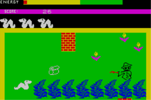 Download Wriggler (Amstrad CPC) - My Abandonware