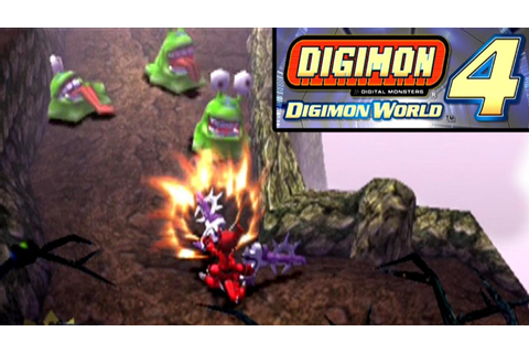 Digimon World 4 ... (PS2) - YouTube