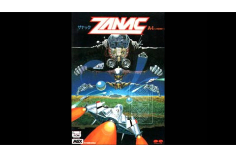 Zanac (MSX) - Title theme - YouTube