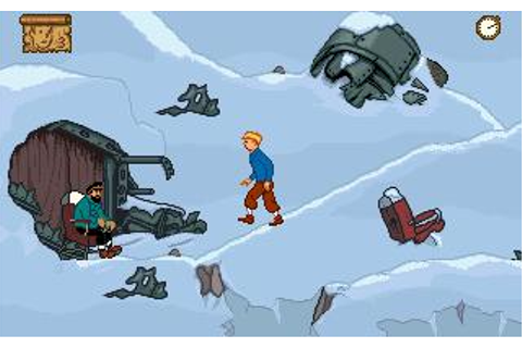 Tintin in Tibet Download (1996 Arcade action Game)
