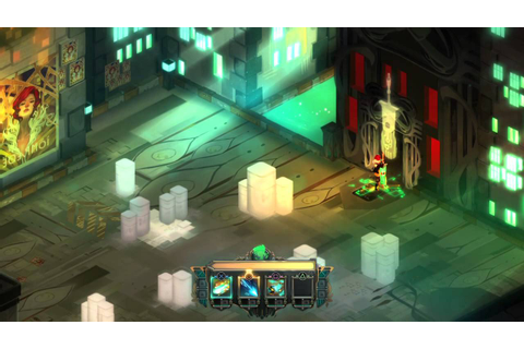 Transistor PS4 Gameplay - YouTube