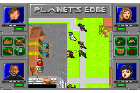 Planet's Edge: The Point of no Return (1992) by New World ...