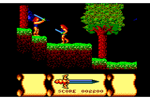 Storm Warrior screenshots for Amstrad CPC