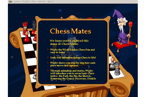 Chess Mates Download (1996 Educational Game)
