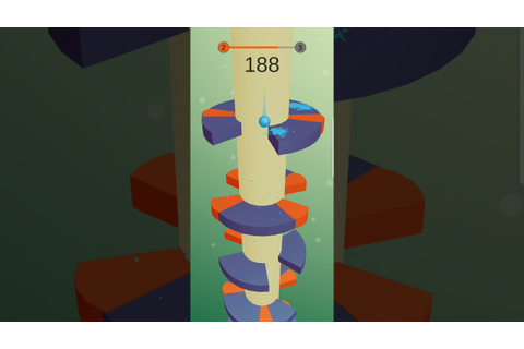 Helix Jump Android Game - Game with ball - YouTube
