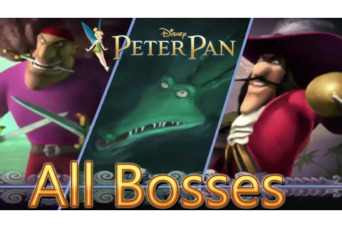 Disney's Peter Pan: Return to Neverland All Bosses | Boss ...
