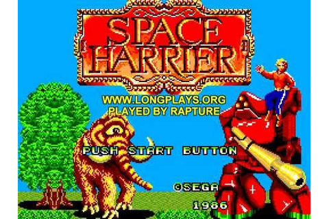 Master System Longplay [096] Space Harrier - YouTube