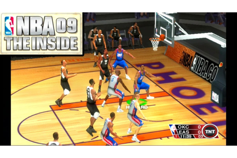 NBA 09: The Inside ... (PS2) - YouTube