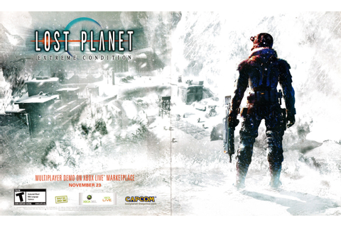 "Video Game Print Ads — ""Lost Planet: Extreme Condition ..."