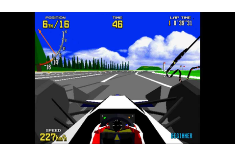 Virtua Racing Arcade Game-Play HD - YouTube