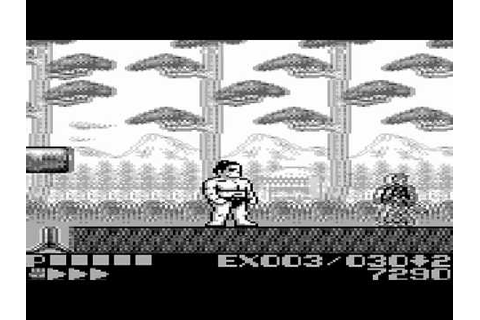 Sumo Fighter Game Sample - Game Boy - YouTube