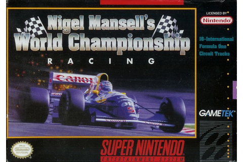 Nigel Mansell's World Championship Racing (1992) - MobyGames