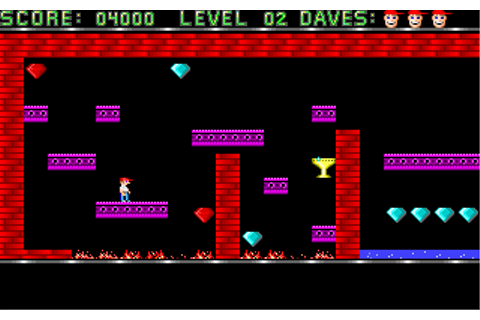 Dangerous Dave | Old MS-DOS Games | Download for Free or ...