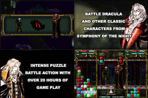 Castlevania Puzzle: Encore of the Night whips onto iPhone ...
