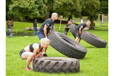 Superhuman Games 2013 - Strength & Honour - Flipping Tyres ...