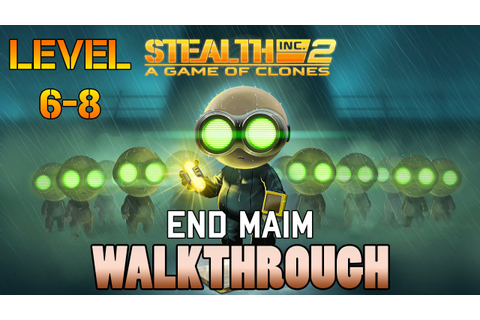 Stealth Inc. 2: A Game of Clones Xbox One Walkthrough: End ...