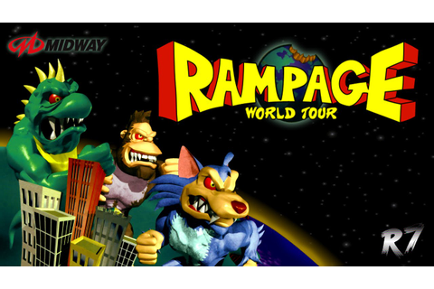 Rampage World Tour | Arcade | Longplay | HD 720p 60FPS ...