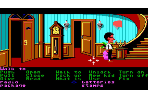 Maniac Mansion walkthrough - YouTube