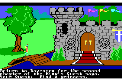 Play King's Quest II: Romancing the Throne online ...