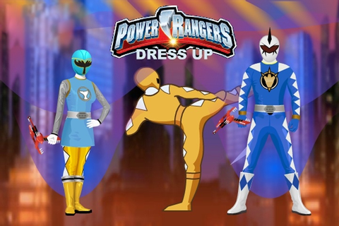 Power Rangers Dress Up Game - Power Rangers games - Games Loon