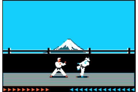 Thanks to an online archive, here's a Karateka review in ...