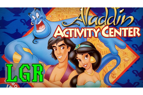 LGR - Disney's Aladdin Activity Center Review - YouTube
