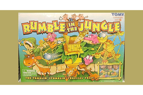 Rumble in the Jungle | Board Game | BoardGameGeek